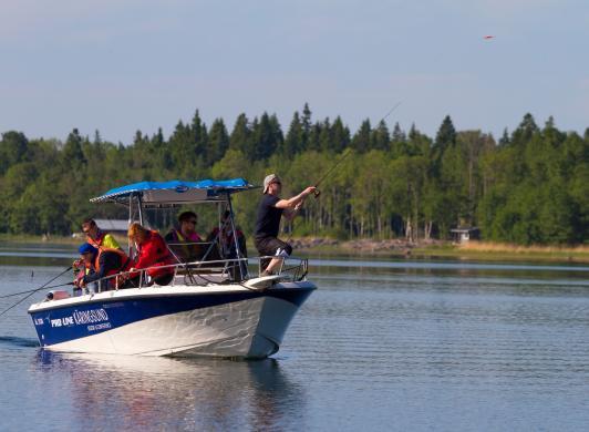 Fisketur med utgångspunkt från Strandby och Käringsund