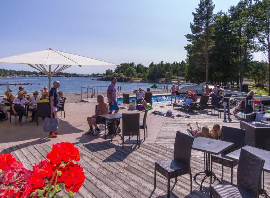Terrassen vid Käringsund Resort & Conference